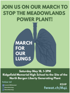 "NJ Students Invite You to ""March for Our Lungs"" on May 18 in Ridgefield"